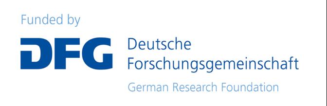 Logo der Deutsche Forschungsgemeinschaft